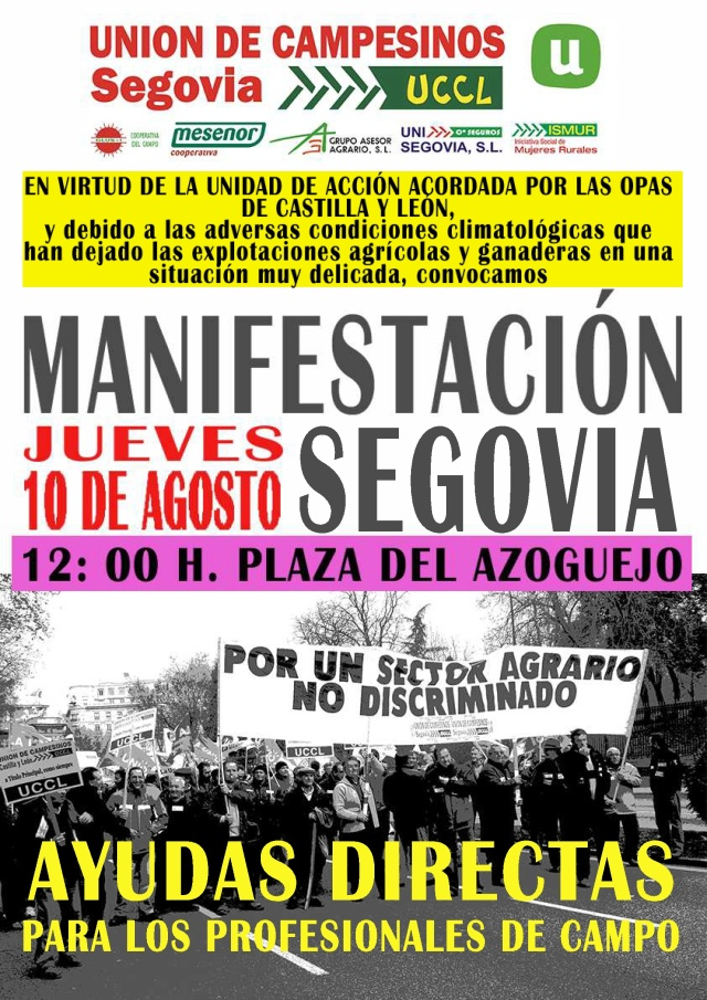 CARTEL MOVIDA SEQUÍA AMARILLO